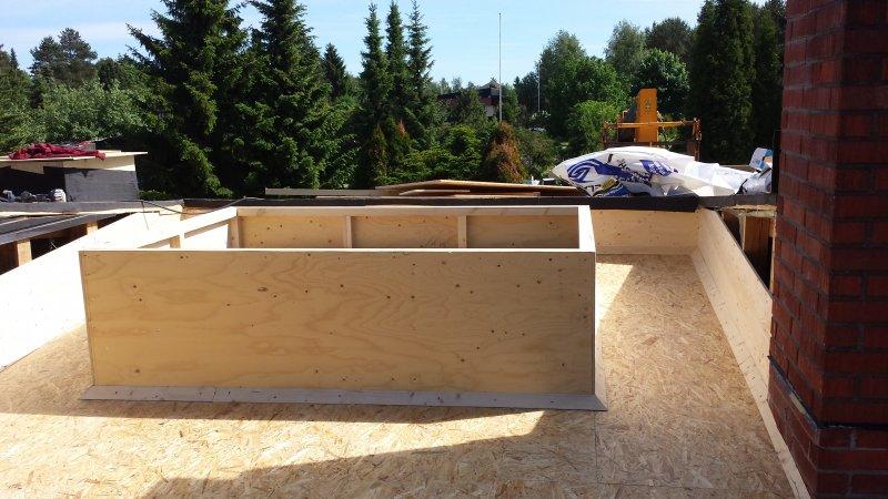 Huopakatto kattoikkuna (5)